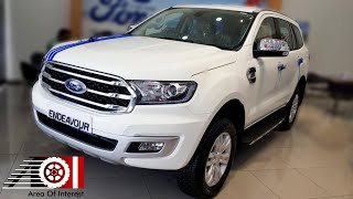 2019 Ford Endeavour Facelift Base Model | 2.2L MT | Price | Mileage | Features | Specs | Interior