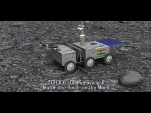 Chandrayaan-1 ISRO - India's Moon Mission Animation by Thejes