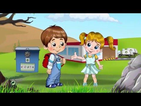 Ambalaj Atıkları Çöp Değildir Çocuk Eğitim Videosu