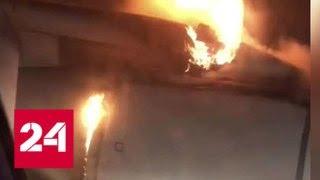 Загорелся двигатель: в Уфе аварийно сел пассажирский Ту-204 - Россия 24