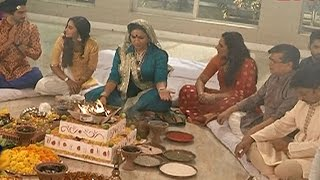 Rishab & Raina Attend Hawan Pooja in 'Brahmarakshas'  |#TellyTopUp
