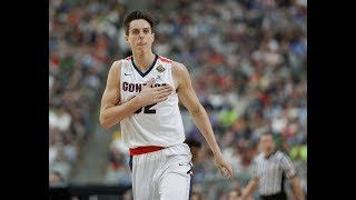 The Portland Trail Blazers select Gonzaga's Zach Collins with the 10th pick of the 2017 NBA draft