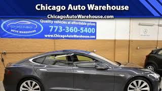 Tesla Chicago Auto Warehouse