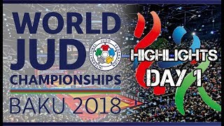 Judo World Championship Baku 2018 Highlights of day 2