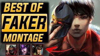 "Faker ""#1 World"" Montage 2017 (Best Of Faker) | League Of Legends"