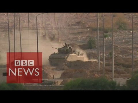 Egypt battles ISIS in Sinai - BBC News