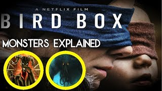 Bird Box Monsters/Creatures Explained + Real Face of Bird Box Monster(Hindi)