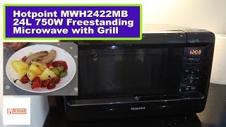 Hotpoint MWH2422MB Microwave Grill is cheap but is it any good?