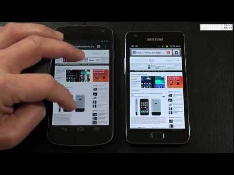 Verizon Samsung Galaxy Nexus vs Samsung Galaxy S II