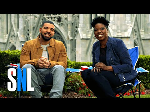 Drake Stars in Hilarious 'SNL' Promo With Leslie Jones news