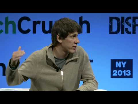 In Conversation With Dennis Crowley (Foursquare) | Disrupt NY 2013