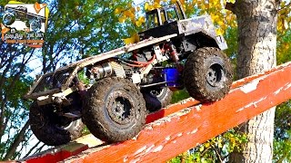 RC ADVENTURES - BACKYARD TRAiL PARK - Obstacle Course Highlights - TTC 2016 POKER RALLY - PT 5