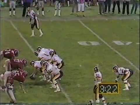 NFL 1984 Week 10 Atlanta Falcons at Washington Redskins Event: 1984 week 10 falcons @ redskins Broadcast date: RFK -- Monday 9pm EST, November 5, 1984 ABC, Frank Gifford, Don Meredith, ...