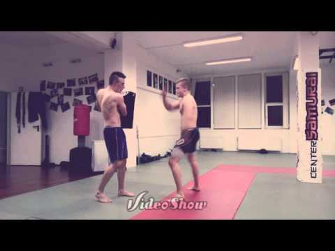 MMA,K1-Pad training,kicking drills-CENTER SAMURAI- Image 1