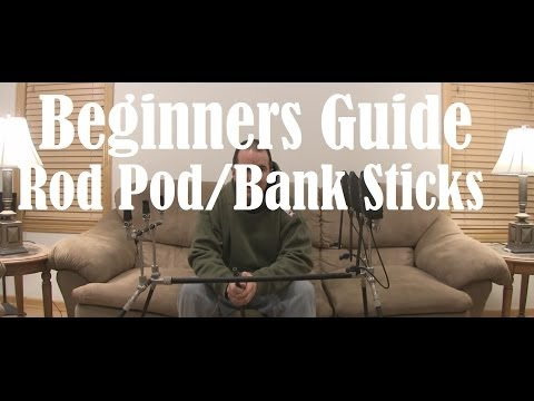 Beginners guide to the carp fishing Rod Pod and Bank Sticks