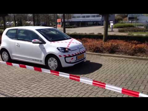 City Emergency Braking van VW Up