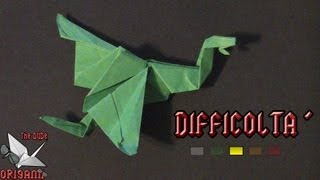 Dude's Daily Origami - Drago Semplice (tutorial In Italiano)