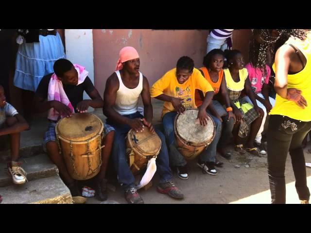 tambores Garifunas, Santa Fe Colon, Honduras