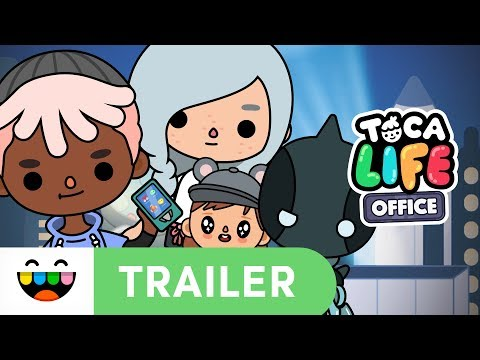 OFFICE WORKERS! SUPERHEROES! BABIES! | Toca Life: Office | Gameplay Trailer