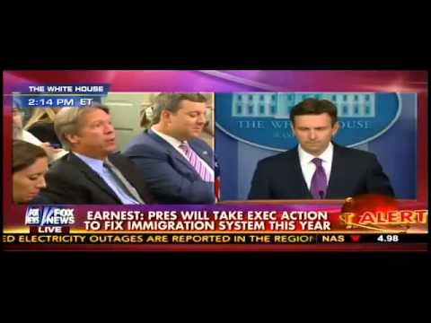 CBS Reporter on Josh Earnest Over Obama Delaying Exec Action