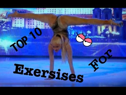 TOP 10 exercises for butt by Yeva Shiyanova