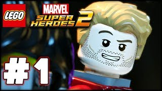 LEGO Marvel Superheroes 2 - Part 1 - Kang Attacks! (HD Gameplay Walkthrough)