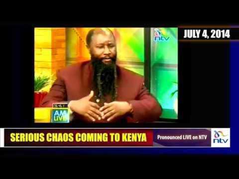 SERIOUS CHAOS COMING TO KENYA (LIVE ON NTV) - Prophet Dr. Owuor