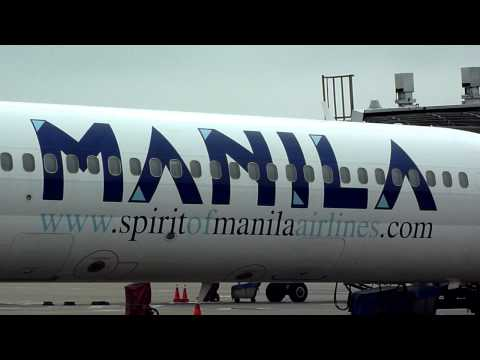 Spirit Of Manila Airlines , MD-83 , RP-C7702 @ TaoYuan International Airport , Taiwan