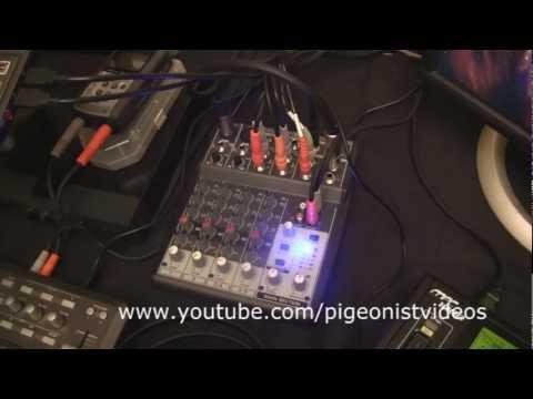 Behringer XENYX 802 Mixer Setup