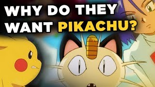 Why Does Team Rocket Want Pikachu?