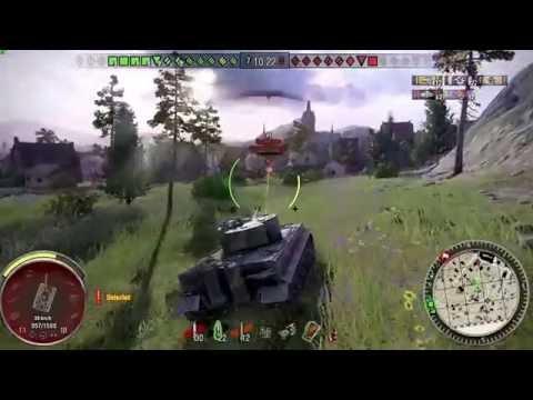 World of Tanks Xbox one Tiger I 7 Kills
