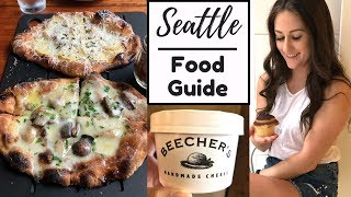 WHERE TO EAT IN SEATTLE (Food Tour Vlog) | SB