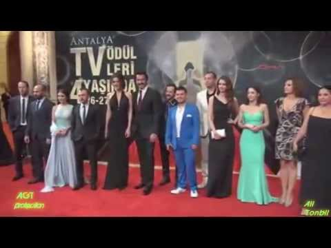 Kenan İmirzalıoğlu & Karadayı Team At 4th Antalya Television Awards - Red Carpet Stage