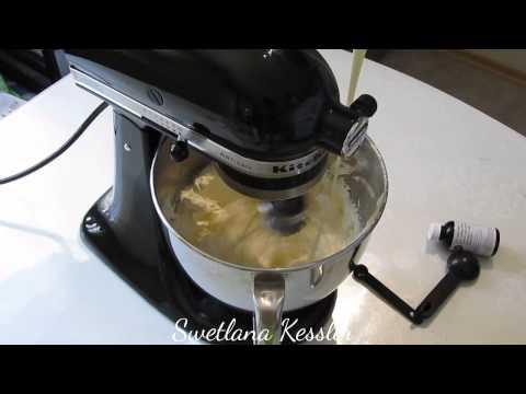 Техника приготовления маслянного крема.
