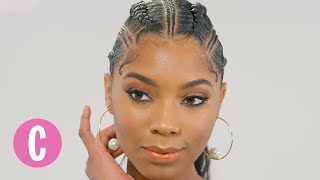 This Braided Ponytail Looks Hot AF | The Braid Up | Cosmopolitan