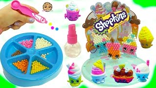 Make Your Own Ice Cream Shopkins - Beados  Water Beads Craft Playset - Toy Video