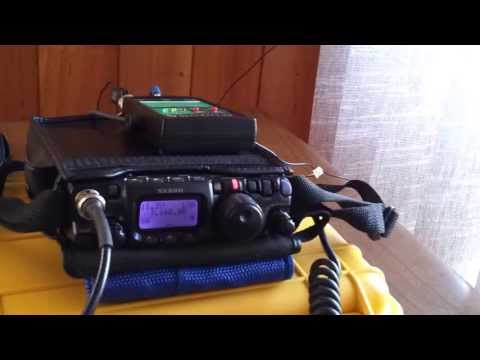 VK3XPT QRP Portable QSO with VK3YE QRP Portable using the