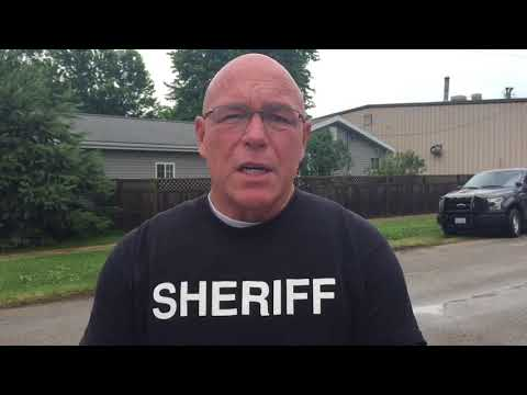 Moultrie County Sheriff Chris Sims on Dalton City Standoff