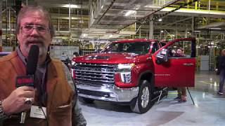 2020 Chevrolet Heavy Duty factory tour in Flint, Part one engineer interviews
