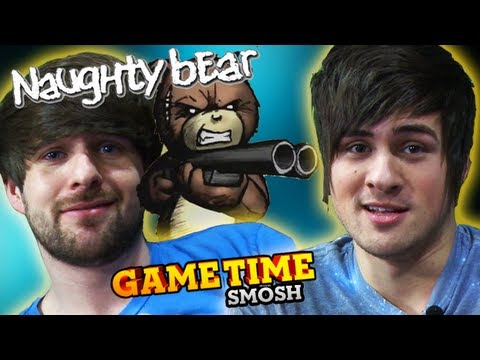 BEATING THE FLUFF OUT OF BEARS (Game Time with Smosh)