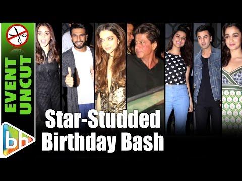 Shah Rukh Khan   Ranveer Singh   Deepika Padukone At Jitesh Pillai's Birthday Bash   Event Uncut