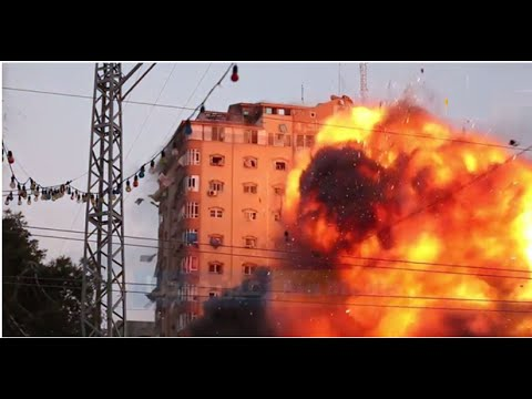 Shocking attack by Israel against a residential building in Gaza