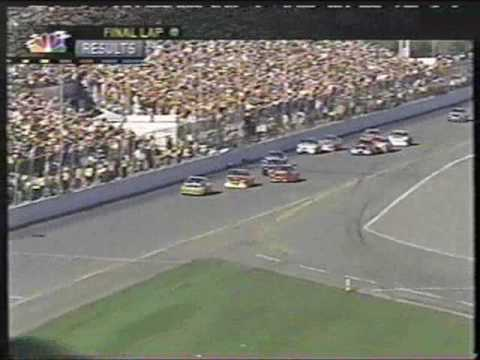 2002 Daytona 500 Finish