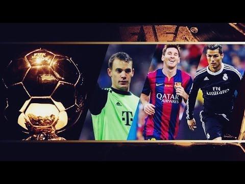 FIFA Ballon d'Or 2014 ► Cristiano Ronaldo vs Lionel Messi vs Manuel Neuer