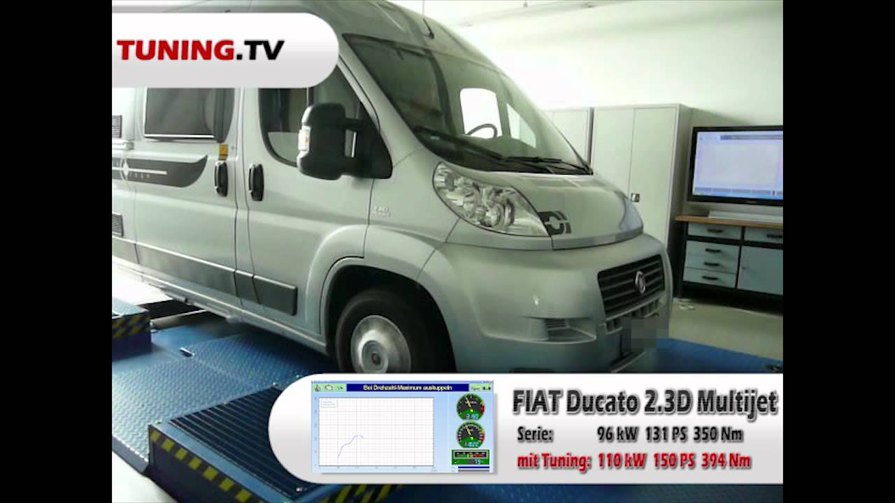 womo tuning fiat ducato multijet 96kw 131ps mit. Black Bedroom Furniture Sets. Home Design Ideas