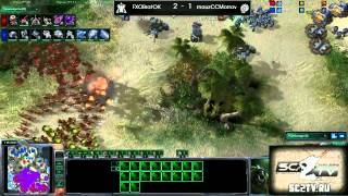 Ritmix RSL, группа D: FXOBratOK vs mouzCCMorrow Part 02 - [Starcraft II]