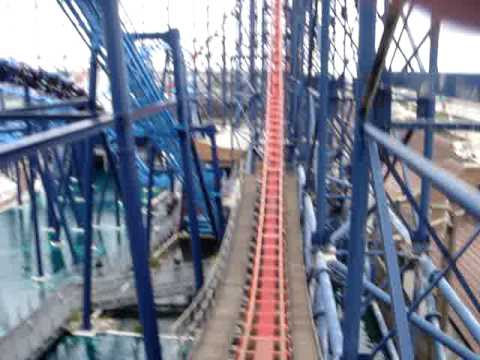 THE PEPSI MAX BIG ONE (front row pov)