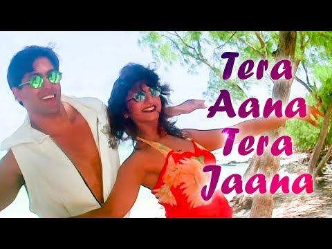 Tera Aana Tera Jaana - Salman Khan - Rambha -  Judwaa Songs - Kumar Sanu - Kavita Krishnamurthy