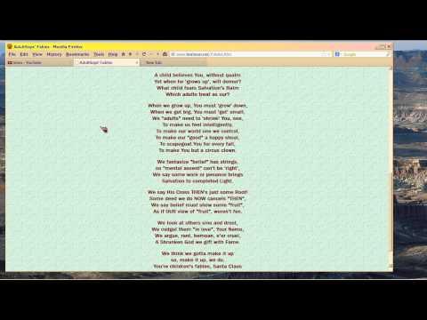 Adult Sops Fables (a poem)