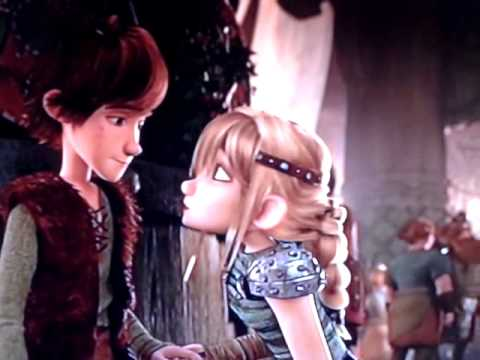 Hiccup and Astrid's 2nd Kiss